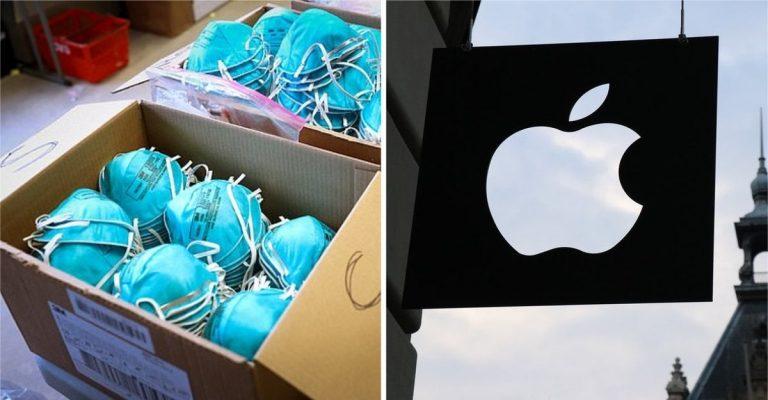 Apple donará 10 millones de máscaras a trabajadores de la salud en los EE. UU.