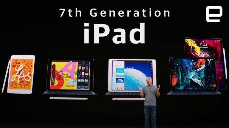 Apple lanza iPad de 10.2 pulgadas (7ma generación) una semana antes