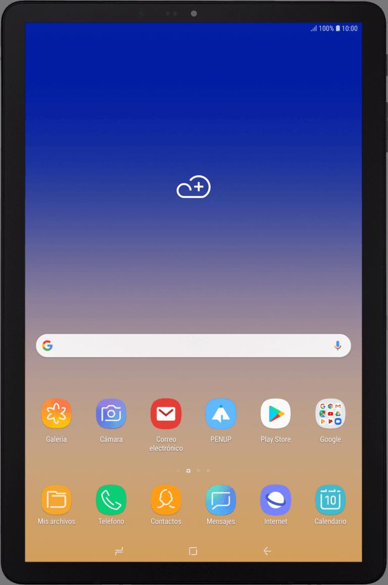 Aquí lo que está dentro de la Galaxy Tab S4