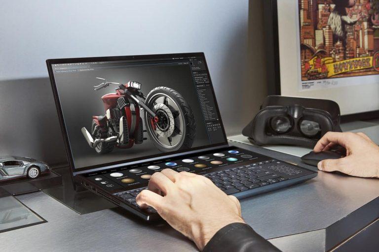 Asus? Los nuevos ZenBook Pros tienen una pantalla en el panel táctil