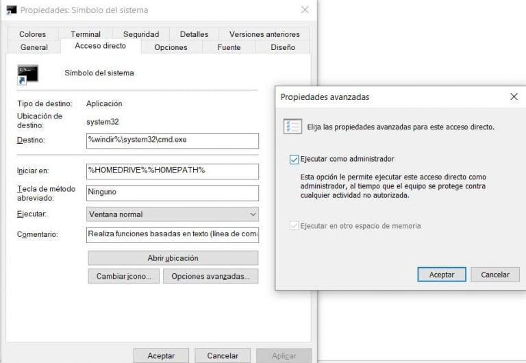 Cómo abrir un símbolo del sistema de Windows 10 con privilegios de administrador
