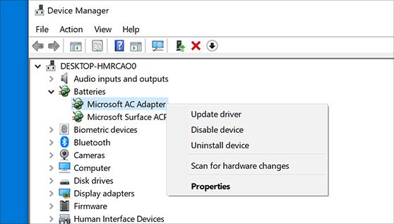 Cómo actualizar los controladores en Windows 10