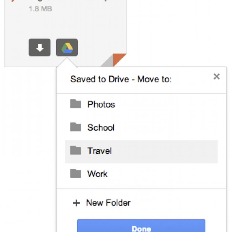 Cómo guardar archivos adjuntos de Gmail en Google Drive