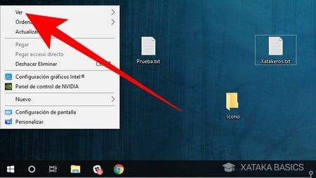 Cómo hacer que los iconos de escritorio de Windows sean más grandes o más pequeños