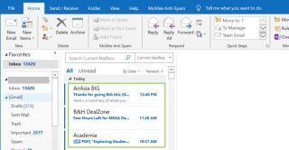 Cómo imprimir múltiples correos electrónicos desde una carpeta de Outlook