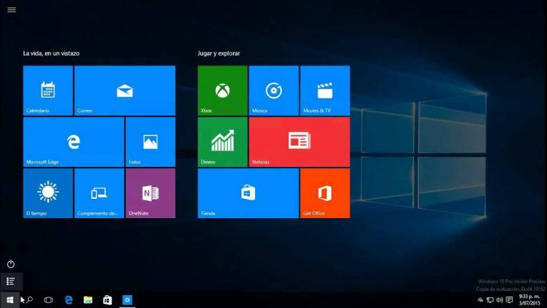 Cómo ocultar opciones en el menú de configuración de Windows 10