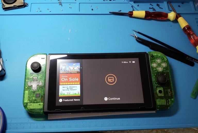 Construye tu propio Nintendo Switch por solo € 199 y mucha paciencia