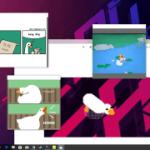Dejé que el ganso de Untitled Goose Game arrasara todo mi escritorio