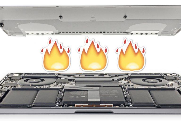 El Core i9 MacBook Pro podría tener un serio problema de aceleración