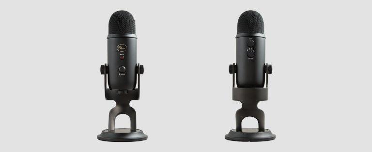 El increíble micrófono USB Blue Yeti cuesta solo € 89