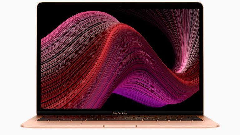 El nuevo MacBook Air hace alarde de un teclado mejorado y más almacenamiento por € 999