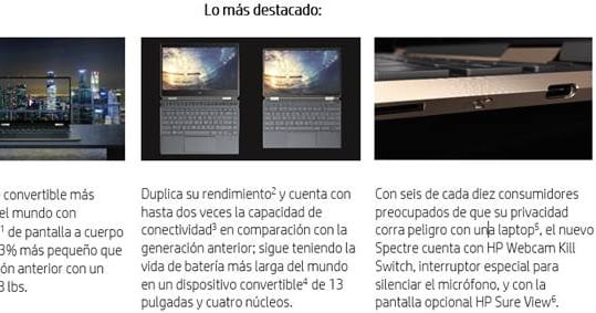 El nuevo Spectre x360 de HP tiene una pantalla OLED 4K de 13 pulgadas y lo quiero