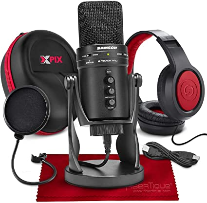 El paquete de micrófonos Samson G-Track Pro iniciará tu carrera de Twitch este viernes negro