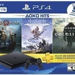 Este paquete PS4 Slim de $ 199 con 3 juegos es el acuerdo de consola del año
