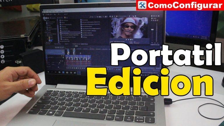 Help Me, Laptop: no soy un videojugador y editor de video