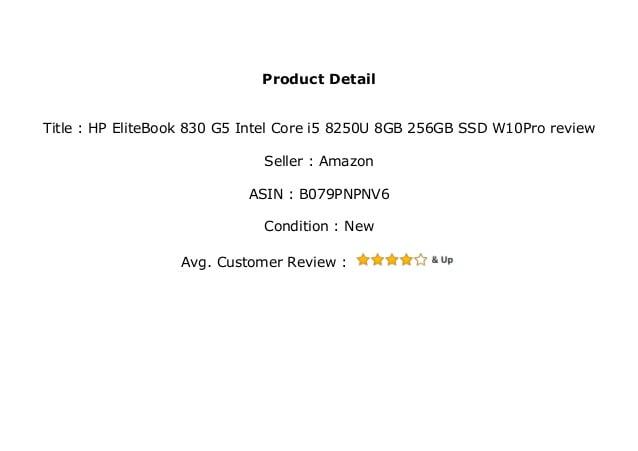 HP EliteBook 830 G5 Review