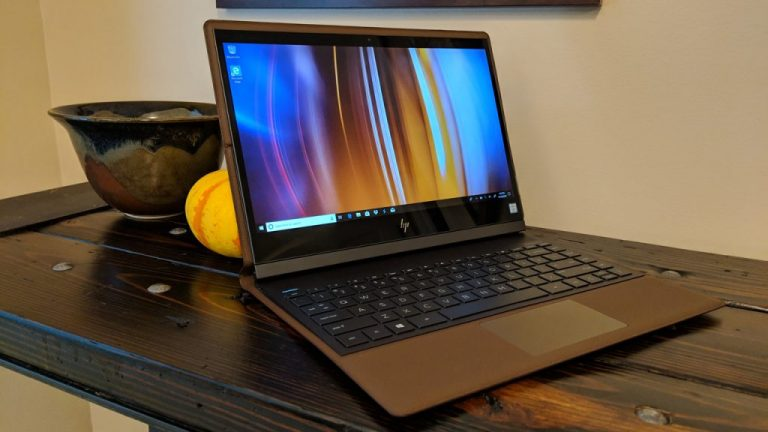 HP Specter Folio Hands-On: A Stunning Leather 2-en-1