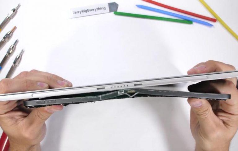 iPad Pro aún no puede sobrevivir a la prueba de doblado: aquí está la prueba