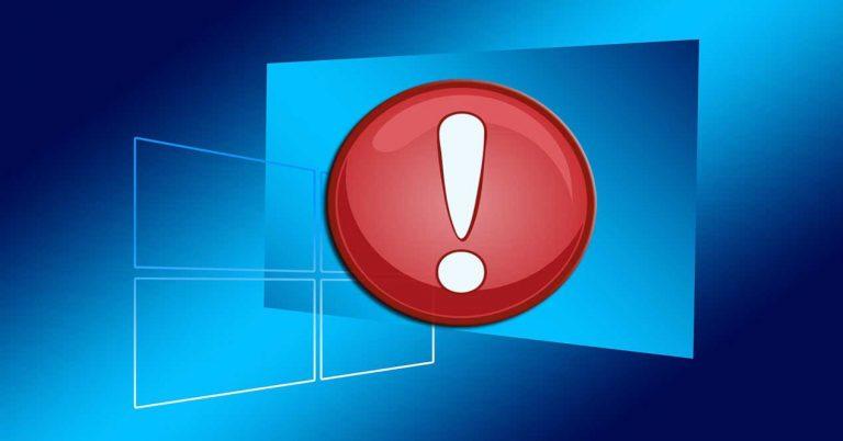 La 'solución' de Microsoft para la falla de seguridad severa de Windows 10 no se instala para muchos usuarios
