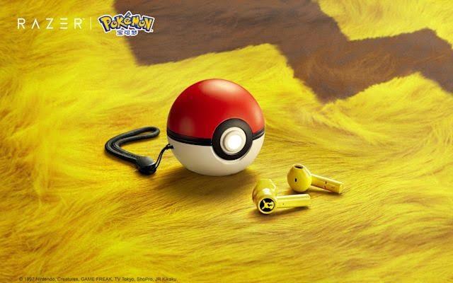 Los auriculares Pikachu de Razer se cargan en una Pokébola, y los necesitamos ahora