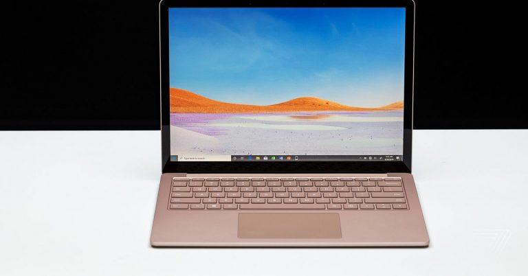 Microsoft Surface Laptop 3 (13.5 pulgadas) revisión