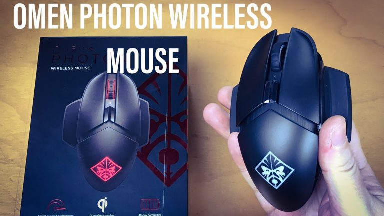 Revisión del mouse HP Omen Photon Gaming