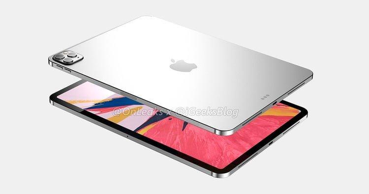 Se rumorea que el nuevo iPad Pro de 12 pulgadas con cámara 3D se lanzará en marzo