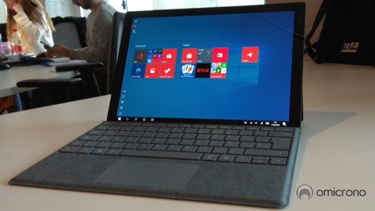 Surface Pro 7 con paquete de teclado ahora € 180 de descuento en la oferta de computadora portátil