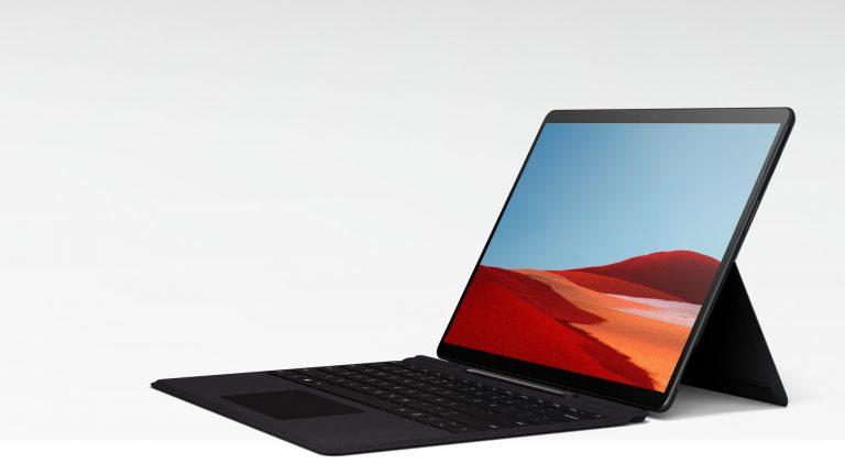 Surface Pro 7 con teclado ahora € 230 de descuento en un portátil de un día