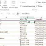 Cómo congelar filas y columnas en Excel