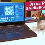 Asus ProArt StudioBook 15 revisión