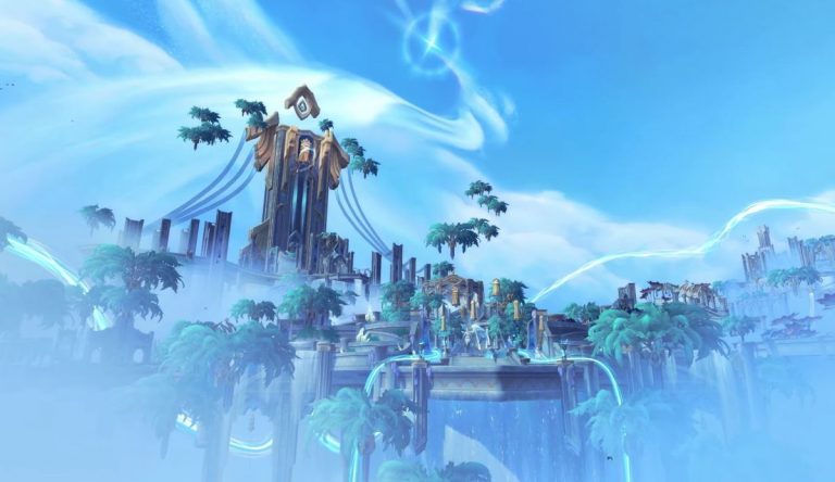 Con el próximo parche de World of Warcraft Shadowlands puedes actualizar el equipo mítico