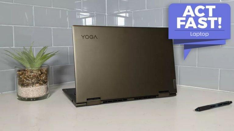 Obtenga € 200 de Lenovo Yoga 7i con Intel Core i7 en la oferta épica 2 en 1