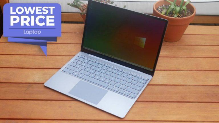 Surface Laptop Go tiene un descuento de € 200 y está de regreso a un precio bajo de todos los tiempos