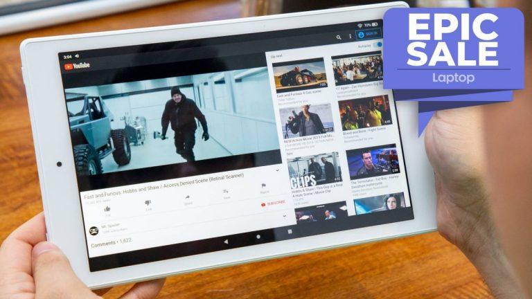 Obtenga la galardonada tableta Fire HD 10 de Amazon por solo € 95