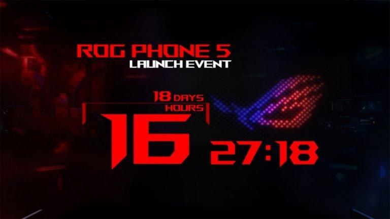 Asus ROG Phone 5 llegará el próximo mes – ¡Los jugadores móviles se preparan!
