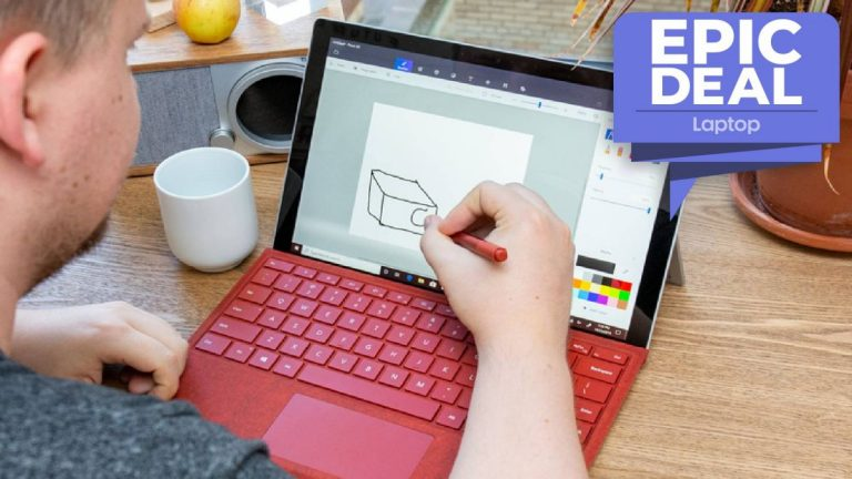 El paquete Microsoft Surface Pro 7 con cubierta, mouse, lápiz y Office 365 ahora es más de € 400 más barato