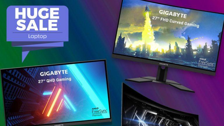 Las ventas de monitores para juegos Gigabyte han reducido las pantallas Epic QHD a € 140