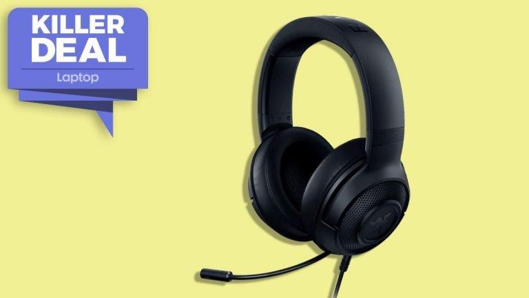 ¡Continúa jugando!  Los auriculares para juegos Razer Kraken X 7.1 ahora cuestan solo € 39.99