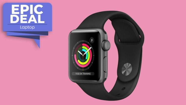 Obtenga € 30 de descuento en el Apple Watch 3 de 42 mm en la oferta de Super Smartwatch