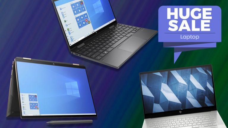 Obtenga un 10% de descuento en todas las computadoras portátiles HP Envy y Spectre en las enormes ventas de Currys PC World