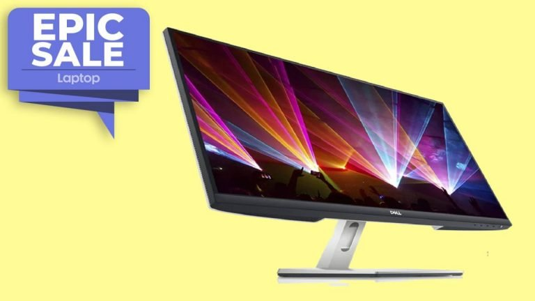 ¡Apurarse!  Este monitor de 27 pulgadas de Dell cuesta solo € 129 el día de los presidentes