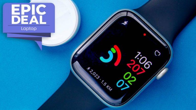 ¡Un trato épico!  Obtén € 50 del Apple Watch Serie 6