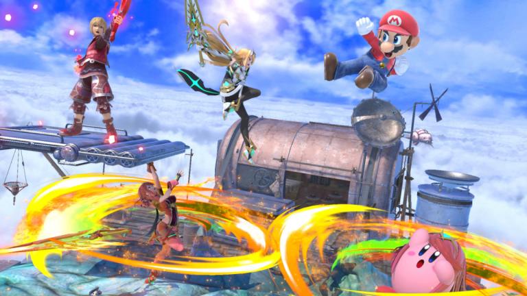 Ultimate Smash Bros.  Ultimate: Pyra y Mythra ahora están disponibles por € 5.99