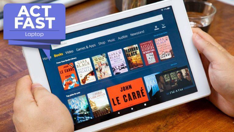 ¡Apurarse!  La tableta Amazon Fire HD 10 de 64GB cae a € 108 en una venta flash de un día