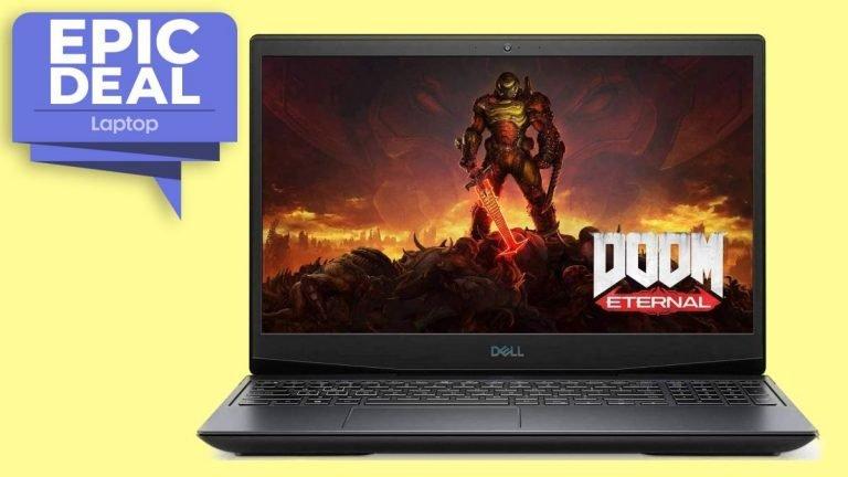 El acuerdo de la computadora portátil para juegos Dell G5 15 con GPU RTX 2060 cae a € 999