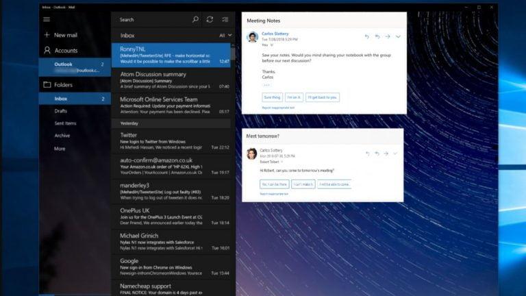 Espere que Windows obtenga la función de respuestas sugeridas