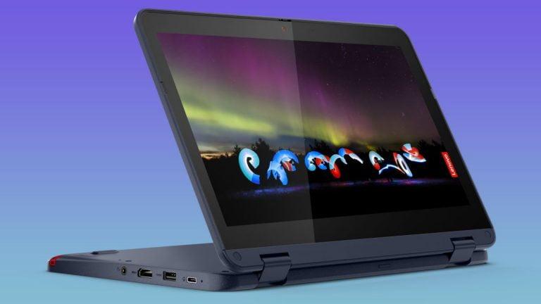 Las nuevas laptops resistentes para estudiantes con Windows 10 de Lenovo vienen con CPU AMD e Intel y comienzan en solo € 299