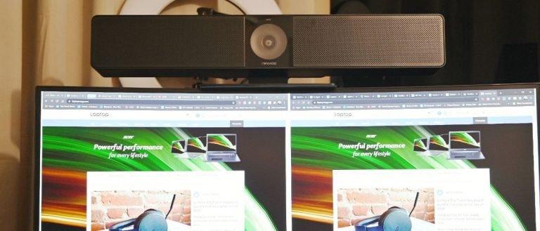 Revisión de la cámara de videoconferencia Nexvoo Nexbar N110