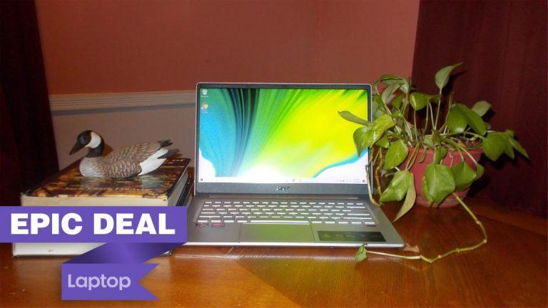 Obtenga € 120 del Acer Swift 3 y el mouse gratis en un paquete de computadora portátil grande
